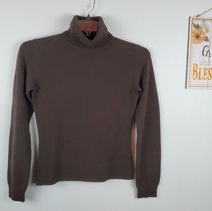 Pure Amici 100% Cashmere turtleneck sweater